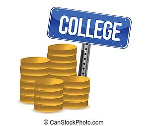 ahorros, colegio