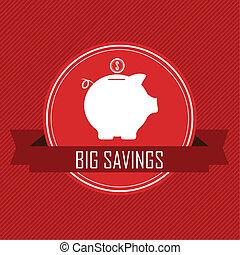 ahorros grandes