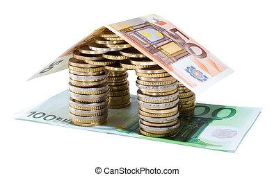 Ahorros para el proyecto de bienes raíces