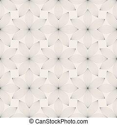 aislado, plano de fondo, blanco, floral, vector