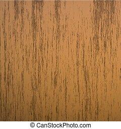 Aislado realista, sin texturas de madera sin costura ilustración vectorial, fondo de madera dura