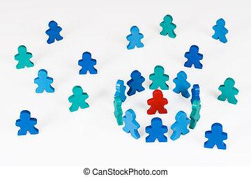 aislamiento, o, segregación