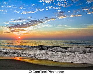 Al amanecer de la isla Fenwick