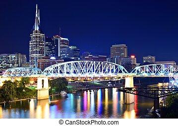 Al centro de Nashville