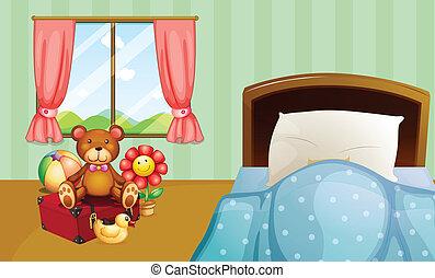 Al dormitorio de los niños