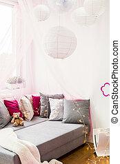 Al dormitorio de niños moderno