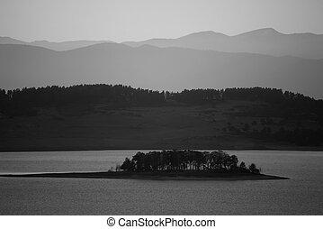 Al fondo del lago Bw