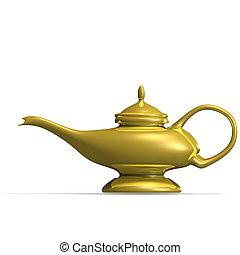 Aladinos lámpara mágica