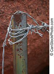Alambrado de alambre de púas