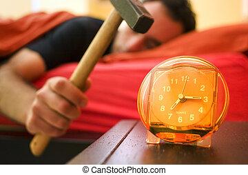 alarma, 01, reloj