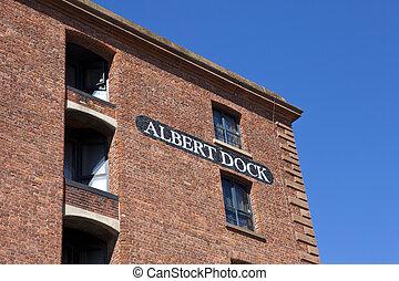 Albert Dock en Liverpool