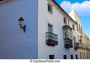 Aldea Zafra en extremadura de España