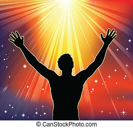alegría, espiritual