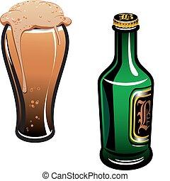 alemán, cerveza