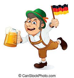 alemán, hombre