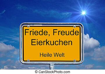 alemán, señal
