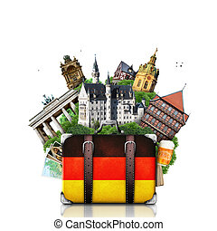 Alemania, monumentos alemanes, viajes