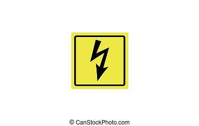 Alerta de peligroso voltaje eléctrico