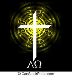 Alfa omega cruzado