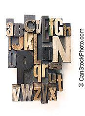 alfabeto de letras