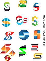 alfabeto, s, carta