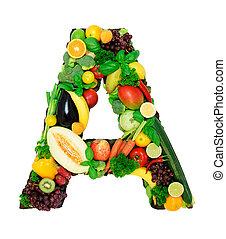 Alfabeto saludable A1