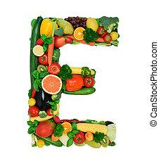 Alfabeto saludable E1