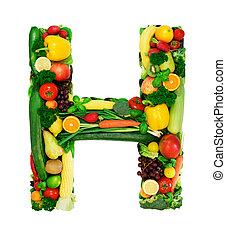 Alfabeto saludable: H