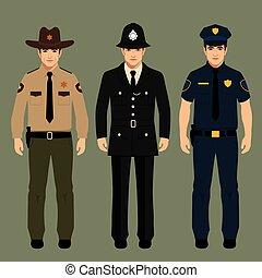 alguacil, policía