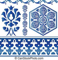Algunos elementos de diseño islámico