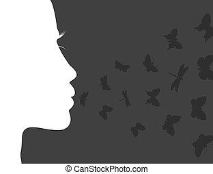 aliento, mariposa