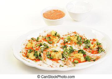alimento, decoraciones, vietnamita