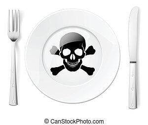 alimento, peligroso
