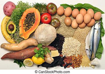 alimento, sano