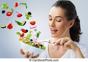 alimento sano, comida
