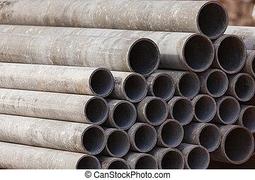 Almacenamiento de materiales de construcción