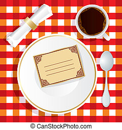 almuerzo, invitación