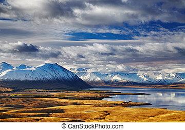Alpes del sur, Nueva Zelanda