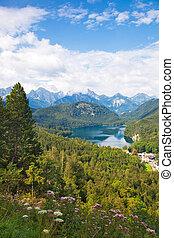 Alpes paisajes alemanes