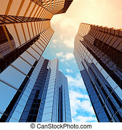 alto, rascacielos