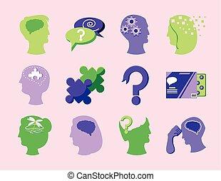 alzheimer, desorden, mental