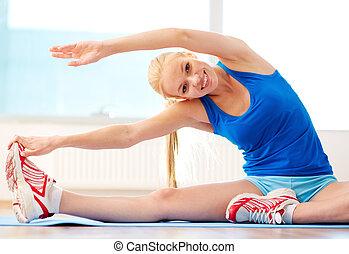 amaestrado, ejercicio