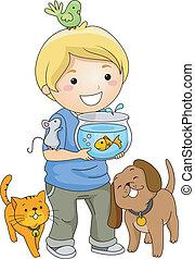 Amante de mascotas