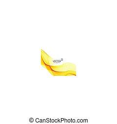 Amarillo hermoso vector de fondo