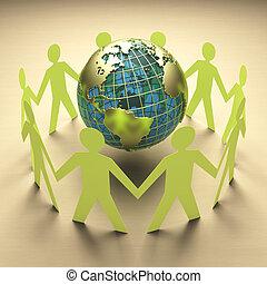 ambiental, viaje, empresa / negocio, preocupación
