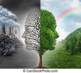 ambiente, cambio