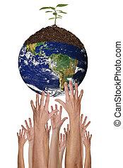 ambiente, proteger, posible, juntos