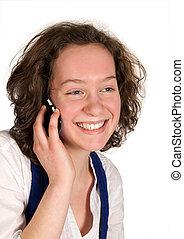 Amigos en el teléfono