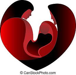 Amor de familia en un gran corazón