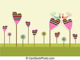 Amor en el jardín del amor